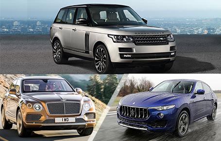 屌丝靠边站!看看真正的富豪们都开什么SUV