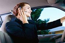 蓝牙耳机免提系统救不了驾车打电话的恶习!
