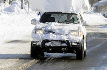 车顶有积雪会被交警处罚,原因竟然是...