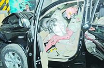 乘客的胸越大,發生事故時就越危險?