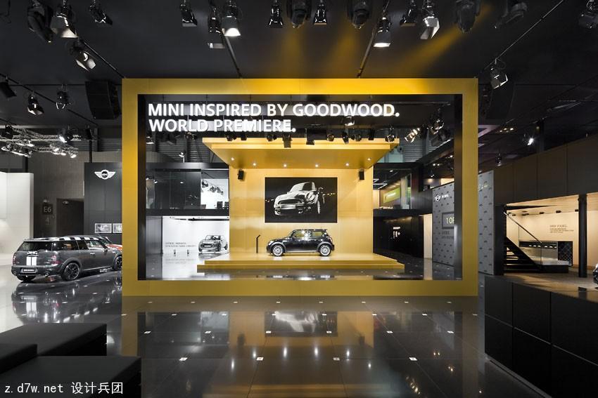 逼格十足 宝马集团历届车展展台设计图片