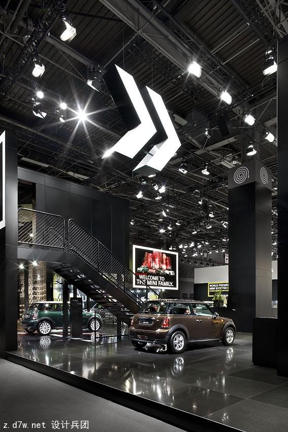 逼格十足 宝马集团历届车展展台设计