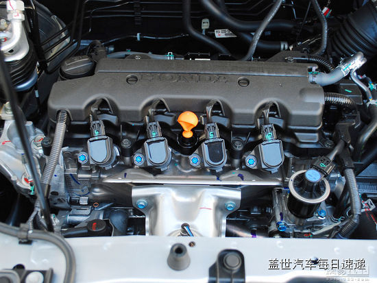 本田cr-v r20系列发动机采用单顶置凸轮轴设计