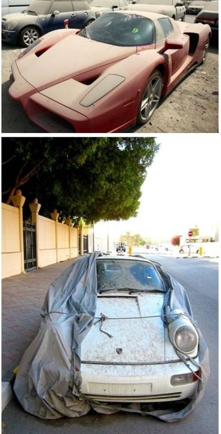 阿联酋王子去世 名下豪车都要变僵尸车了吗高清图片