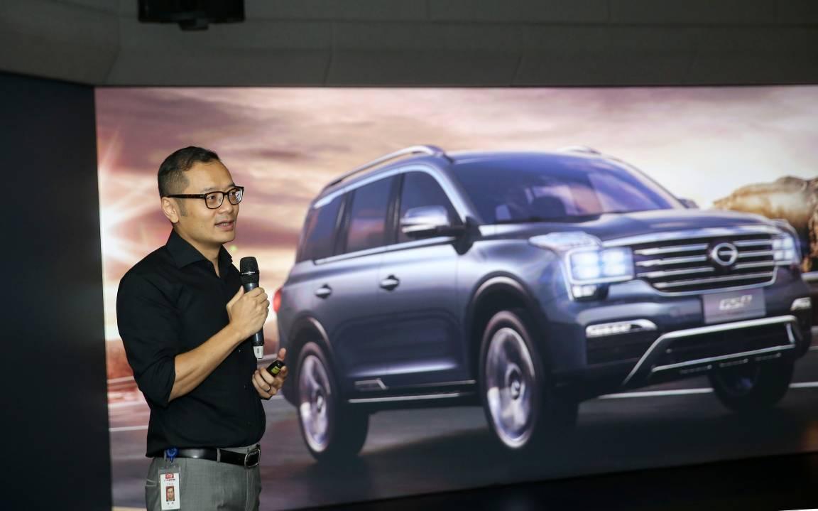 传祺gs8,由广汽研究院副院长,造型设计首席总师/概念与造型设计部部长图片
