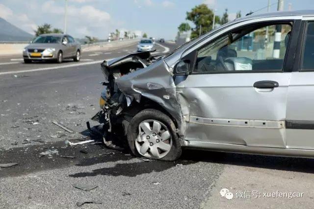 开车遇到这类事故,不是意外造成的,是它